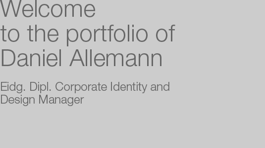 Welcome to the portfolio of Daniel Allemann
